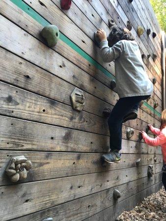 Mount Hermon, Californië: Climbing Wall