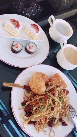 Guiyang, China: 酒廊餐食
