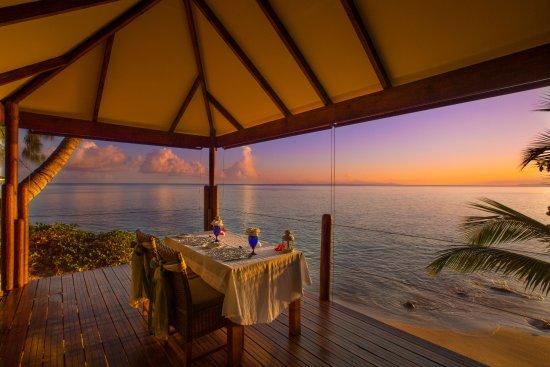 Anse Bois de Rose, Seychelles: Romantic Dining Gazebo for private dinners
