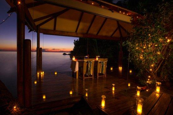 Anse Bois de Rose, Seychelles: Private Romantic Dinner venue