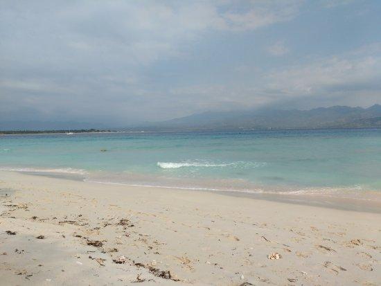Gili Meno, Indonesia: white sands