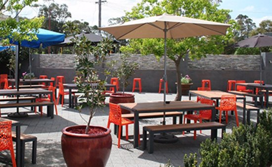 Guildford, Australia: Alfresco Beer Garden, very spacious!