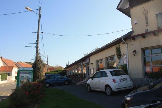 Escalles, France: zijkant