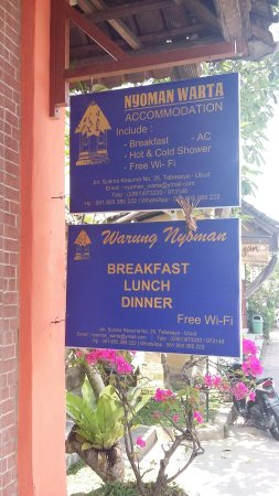 Best Fruit Salade Ever Review Of Warung Nyoman Ubud Indonesia