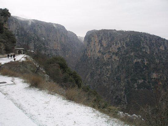 Monodendri, Greece: το φαράγκι