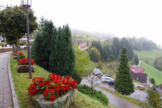 Bad Peterstal-Griesbach, Tyskland: Vue sur la vallée