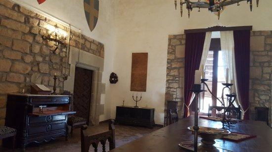 Les Pallargues, Spanyolország: Зал на втором этаже