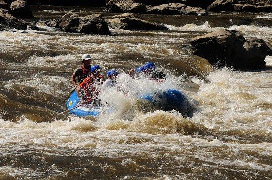 Marshall, Carolina del Norte: Rafting fun