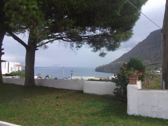 Malfa, İtalya: The view of Panarea