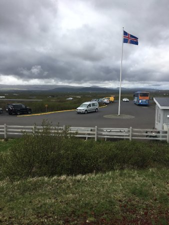 Selfoss, Iceland: parking lot