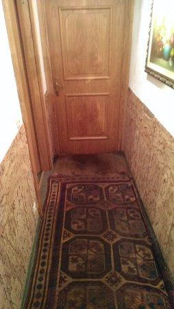 Hotel Bellevue : Eingang Sauna