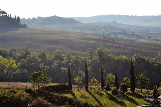 Montisi, İtalya: Tuscan hills