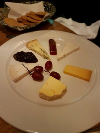 Kentisbury, UK: Cheese Board