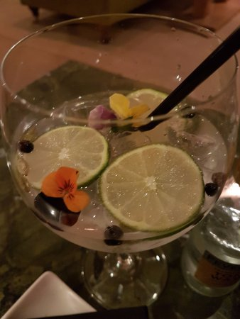 Kentisbury, UK: Beautiful G&T