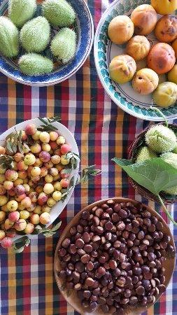 Sant'Alfio, Itália: dettaglio colazione
