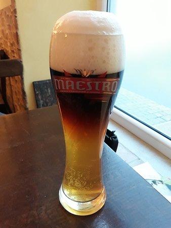 Bielsko-Biała, Polska: piwo - słodkie w smaku