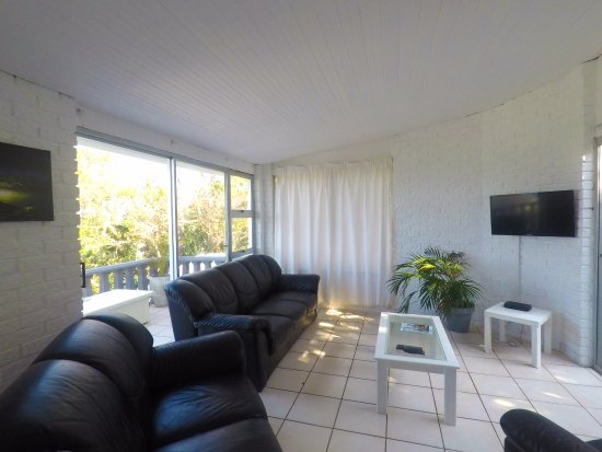 Umdloti Milkwood Chalet 6 - Living Area