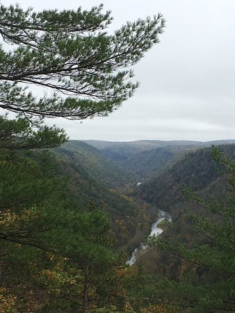Pennsylvania Grand Canyon, Pensylwania: View from opposite side