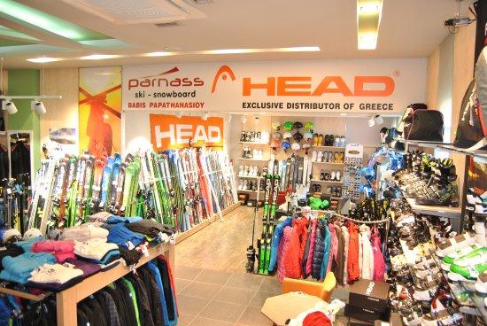 Distomo, Greece: κατάστημα σκι - Αποκλειστικός αντιπρόσωπος Ελλάδας HEAD