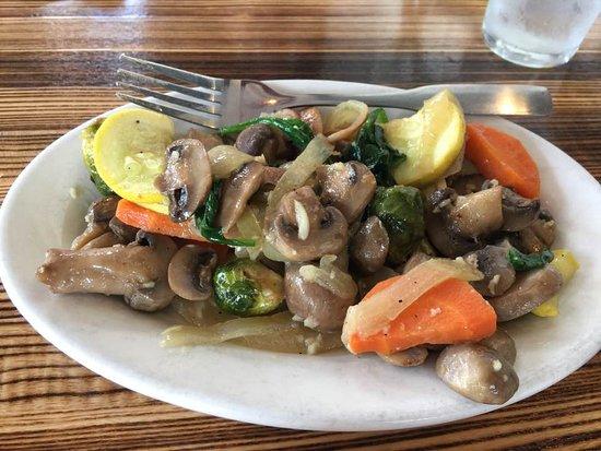 Lawrenceville, GA: Sauteed vegetables (side dish)