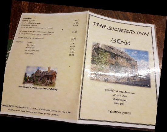 Llanvihangel Crucorney, UK: Skirrid Mountain Inn