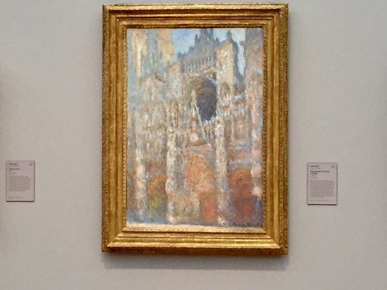 Williamstown, MA: One of the masterpieces of Claude Monet's famous Rouen Cathedral series