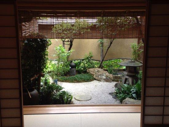 Beautiful japanese garden in umemi room picture of for Japanese garden room