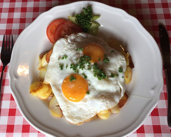 Ginzling, Austria: Best Potato and Egg Dish!