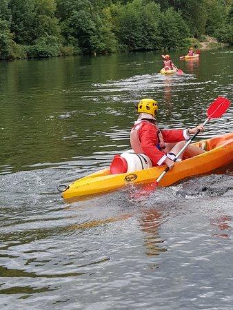 Le Rozier, France : kayak monoplace