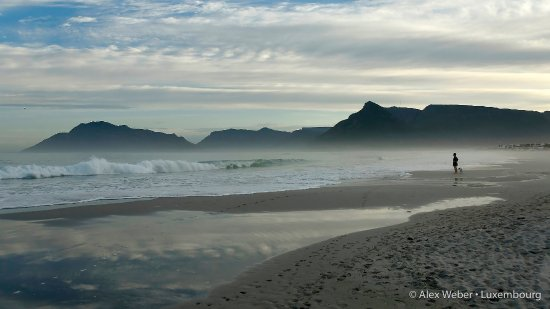 Kommetjie Beach with Chapmans Peak, Hout Bay