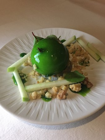 The Samling Hotel: One of the delicious desserts from the Signature menu