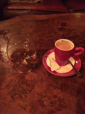 Maarssen, The Netherlands: Koffie en Hennesy Cognac