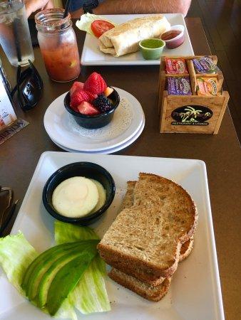 PROUD MARY's, Dana Pt Harbor: Massive Sausage Breakfast : + Salsa