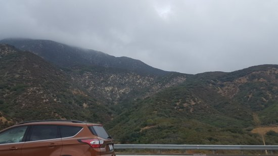 San Bernardino National Forest: one of the views
