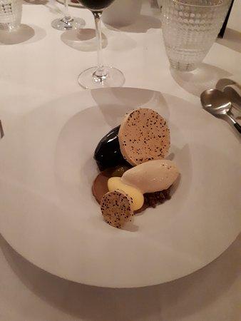 Houthalen, Belgia: Normale dessert (passievrucht & chocolade)