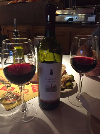 Old Saybrook, CT: Our Bottle of Chianti
