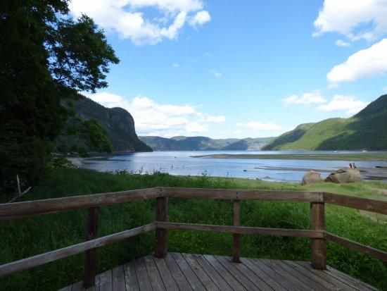 Saguenay, Canadá: Promenade aux abords du fjord