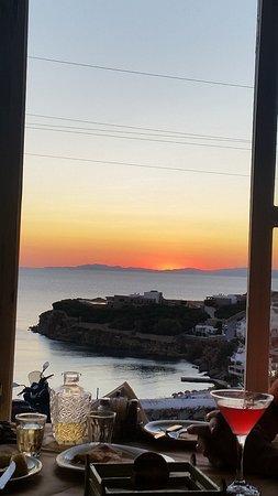Agios Stefanos, Grécia: Fantastic view