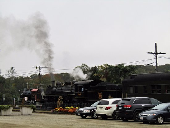 Essex, CT: the steam train