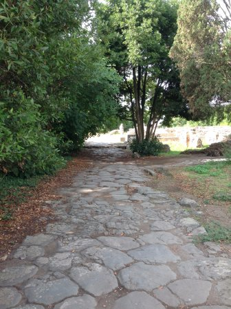 Ostia Antica, Italia: entrance into the ancient town