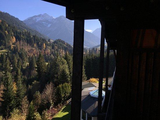 Хиршег, Австрия: Blick vom Balkon