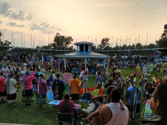Black River Falls, WI: Pow wow grounds