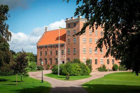 Skania, Szwecja: Zamek Svaneholm, fot.  Carolina Romare