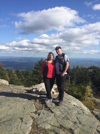 Warner, New Hampshire: us top of Mt. Kearsarge