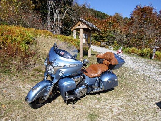 Warner, Nueva Hampshire: Head of the trail