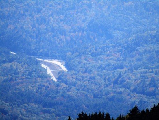 Warner, NH: view of road below