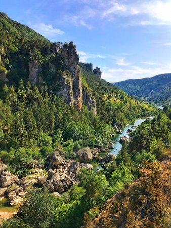 Les Vignes, France: Vue a partir du Pas de Soucy