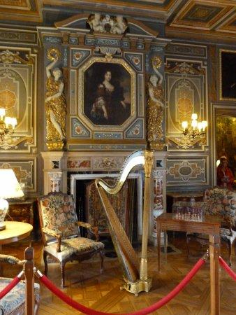 Cheverny, Frankrike: sitting room