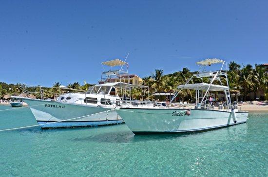 West Bay, Ονδούρα: Rotilla y Valentina