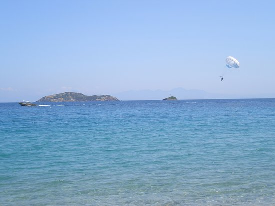 Villa Kim: Παραλία Αχλάδι